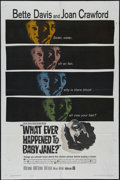 Movie Posters:Horror, Whatever Happened to Baby Jane (Warner Brothers, 1962)....