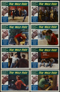"Movie Posters:Crime, The Wild Ride (Filmgroup, Inc., 1960). Lobby Card Set of 8 (11"" X14""). Crime. Directed by Harvey Berman. Starring Jack Nich...(Total: 8 Items)"