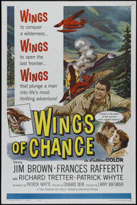 "Wings of Chance (Universal International, 1961). One Sheet (27"" X 41""). Adventure. Directed by Eddie Dew. Star..."