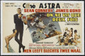 "Movie Posters:Action, You Only Live Twice (United Artists, 1967). Belgian (14"" X 22"").Action. Directed by Lewis Gilbert. Starring Sean Connery, A..."