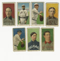 Baseball Cards:Lots, 1909-11 T206 Group Lot of 46. Nice sampling of tobacco cards fromthe T206 issue includes 46 cards, mostly grading G-VG. H...
