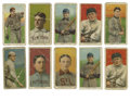 Baseball Cards:Lots, 1909-11 T206 Group Lot of 70. While the majority of the cards inthis tobacco card offering do not grade high (P/F), the sh...