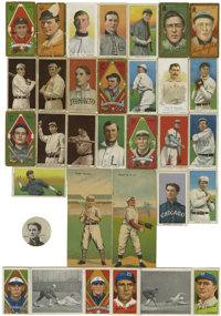 Baseball Tobacco Cards Group Lot of 29. Fantastic array of tobacco cards from issues spanning the years 1877-1912. Lot b...