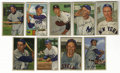 Baseball Cards:Lots, 1952 Bowman Baseball Near Set (236/252). This large group of cardsconsists of 236 examples from the popular 1952 Bowman is...