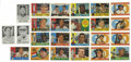 Baseball Cards:Lots, 1960 Topps and Leaf Baseball Group Lot of 451. includes 395 uniquecards from the '60 Topps edition and 56 unique cards from...