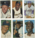 Baseball Cards:Sets, 1964 Topps Giants Complete Set (60). The 1964 Topps issue was its first produced in the postcard size. Set features vivid ...