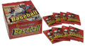 Baseball Collectibles:Others, 1978 Topps Sealed Wax Packs Lot of 8 with Display Wax Box. Tensealed wax packs from Topps' 1978 issue are each in wonderfu...(Total: 8 Items)