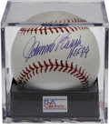 Autographs:Baseballs, Johnny Bench Single Signed Baseball PSA Gem Mint 10. The Hall ofFame backstop for the Big Red Machine offers a flawless sw...