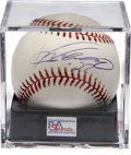 Autographs:Baseballs, Vladimir Guerrero Single Signed Baseball PSA Mint 9. This Dominicansuperstar possesses one of the most thunderous bats in ...
