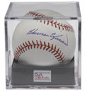 "Autographs:Baseballs, Harmon Killebrew Single Signed Baseball PSA Gem Mint 10. Anabsolutely ""Killer"" blue ink signature to the sweet spot of an ..."