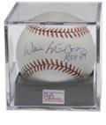 Autographs:Baseballs, Willie McCovey Single Signed Baseball PSA Gem Mint 10. Thehard-slugging San Francisco Giants Hall of Famer offers a pristi...