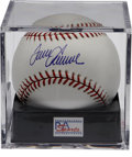 "Autographs:Baseballs, Tom Seaver Single Signed Baseball PSA Gem Mint 10. ""Terrific"" OMLbaseball boasts a flawless blue ink sweet spot signature ..."