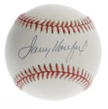 Autographs:Baseballs, Sandy Koufax Single Signed Baseball. Much speculation has been putinto just how dominating a career the great Sandy Koufax...