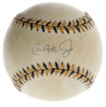 Autographs:Baseballs, Cal Ripken, Jr. Single Signed Baseball. Cal Ripken, Jr. is regardedas one of the most solid baseball players in history, h...