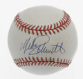 Autographs:Baseballs, Mike Schmidt Single Signed Baseball. ONL (White) baseball isbeginning to exhibit a light vintage cream tone to it, a perfe...