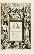 Books:Religion & Theology, [Bible]. LIMITED. The Original King James Bible in Exact Facsimile.Cleveland: World Publishing, [n.d.]. Edition limited to ...