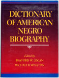 Books:Reference & Bibliography, Rayford W. Logan and Michael R. Winston, editors. Dictionary of American Negro Biography. New York: W.W. Norton & Co...