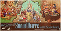 "Movie Posters:Animation, Snow White and the Seven Dwarfs (RKO, 1937). British 24 Sheet (119""X 234.25"").. ..."