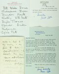 Autographs:Authors, British Female Authors. Group of Autograph and Typed Letters Signed. Includes Eleanor Smith, Anne Ritchie, Elizabeth Longfor...