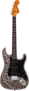Musical Instruments:Electric Guitars, Jon Douglas Aluminum Fender Stratocaster Limited Edition #27/50....