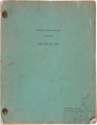 """A Script from """"Gone with the Wind."""""""