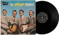 Music Memorabilia:Recordings, Buddy Holly and The Crickets The Chirping Crickets LP (Brunswick BL54038, 1957)....