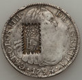 Dominican Republic, Dominican Republic: Ferdinand VII c/m ND (ca. 1820?) over 8 Reales1794 Mo-FM,...