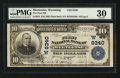 National Bank Notes:Wyoming, Meeteetse, WY - $10 1902 Plain Back Fr. 624 The First NB Ch. #(W)6340. ...