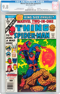 Marvel Two-In-One Annual #2 (Marvel, 1977) CGC NM/MT 9.8 White pages