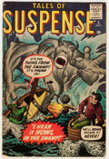 Silver Age (1956-1969):Horror, Tales of Suspense #6 (Marvel, 1959) Condition: Apparent VG....
