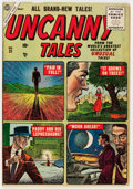 Golden Age (1938-1955):Horror, Uncanny Tales #31 (Atlas, 1955) Condition: VG/FN....