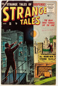 Golden Age (1938-1955):Horror, Strange Tales #36 (Atlas, 1955) Condition: FN+....