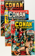 Bronze Age (1970-1979):Adventure, Conan the Barbarian #2-24 Near-Complete Run Group (Marvel, 1970-73)Condition: Average FN/VF.... (Total: 20 Comic Books)