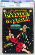 Golden Age (1938-1955):Science Fiction, Mystery in Space #1 (DC, 1951) CGC FN 6.0 Off-white pages....