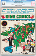 Platinum Age (1897-1937):Miscellaneous, King Comics #9 (David McKay Publications, 1936) CGC FN+ 6.5Off-white to white pages....