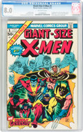 Bronze Age (1970-1979):Superhero, Giant-Size X-Men #1 (Marvel, 1975) CGC VF 8.0 Off-white pages....
