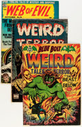 Golden Age (1938-1955):Horror, Comic Books - Assorted Golden Age Pre-Code Horror Comics Group(Various Publishers, 1940s).... (Total: 4 Comic Books)