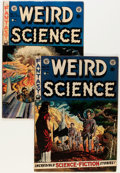 Golden Age (1938-1955):Science Fiction, Weird Science #14 and 18 Group (EC, 1952-53) Condition: AverageFN-.... (Total: 2 Comic Books)