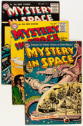 Silver Age (1956-1969):Science Fiction, Mystery in Space Group (DC, 1953-59) Condition: Average VG+....(Total: 11 Comic Books)