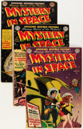 Golden Age (1938-1955):Science Fiction, Mystery in Space Group (DC, 1951-57) Condition: Average GD....(Total: 10 Comic Books)