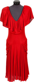 "Movie/TV Memorabilia:Costumes, A Priscilla Presley Dress from ""The Naked Gun: From the Files ofPolice Squad!""..."