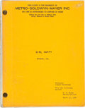 Music Memorabilia:Documents, Elvis Presley-Related Script from Girl Happy (MGM, 1965)....