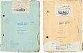 """Movie/TV Memorabilia:Documents, A Pair of Scripts from """"Mr. Wu.""""..."""