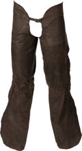 "Movie/TV Memorabilia:Costumes, A Jack Palance Pair of Chaps from ""City Slickers.""..."