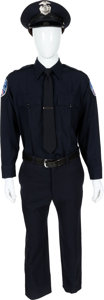 "Movie/TV Memorabilia:Costumes, A Jonah Hill Police Dress Uniform from ""21 Jump Street.""..."
