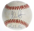 Autographs:Baseballs, Hall of Fame Pitchers Multi-Signed Baseball. Three of the mostdominant hurlers to take the mound have each checked in on t...