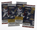 Baseball Collectibles:Others, 2005 World Series Tickets Lot of 4. Ending a drought that lastedsince 1917, the Chicago White Sox shook off all doubts tha...