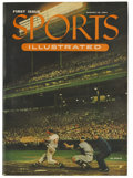"""Baseball Collectibles:Publications, 1954 """"Sports Illustrated"""" Magazine First Issue. August 16, 1954copy of the very first edition of Sports Illustrated. A tr..."""