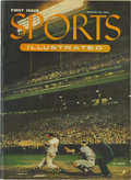 """Baseball Collectibles:Others, 1954 """"Sports Illustrated"""" Magazine First Issue. Yet anotherhigh-quality example of the 1954 inaugural issue of SportsIl..."""