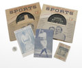 Baseball Collectibles:Others, Babe Ruth Vintage Ephemera Lot of 6. Here we offer six pieces of vintage ephemera that relate to the Great Bambino himself,... (Total: 6 Items)